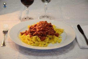 Fettuccine alla Bolognese