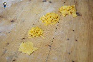 Vari formati di pasta sfoglia