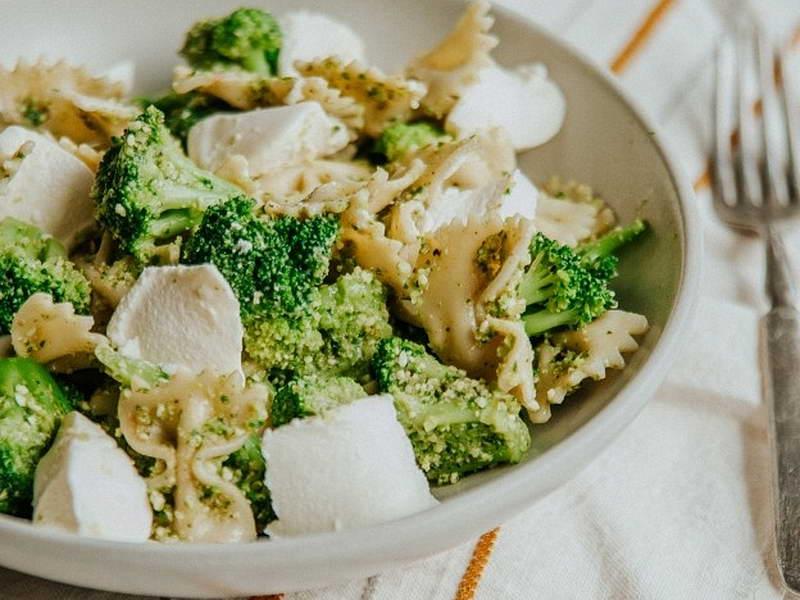 Pasta broccoli e formaggio
