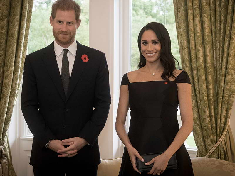 THE DUKE AND DUCHESS OF SUSSEX'S