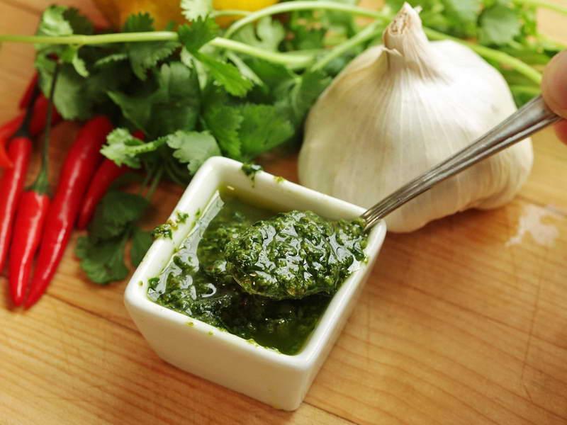 Salsa verde piccante