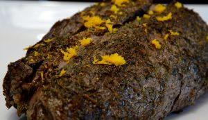 Filetto di manzo all'arancia